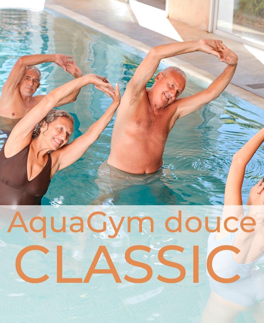 emisante.be reservations en ligne AquaGym douce CLASSIC