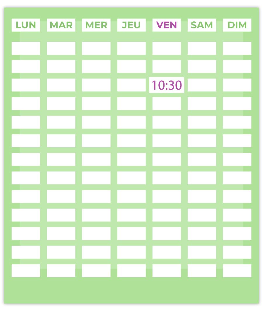 emisante.be reservations en ligne AquaGymDouce calendrier