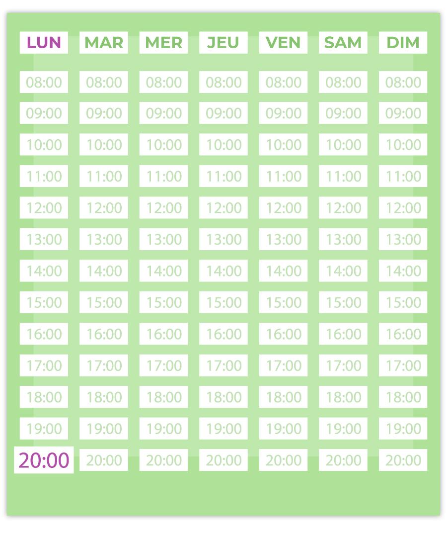 emisante.be reservations en ligne AquaRunning calendrier