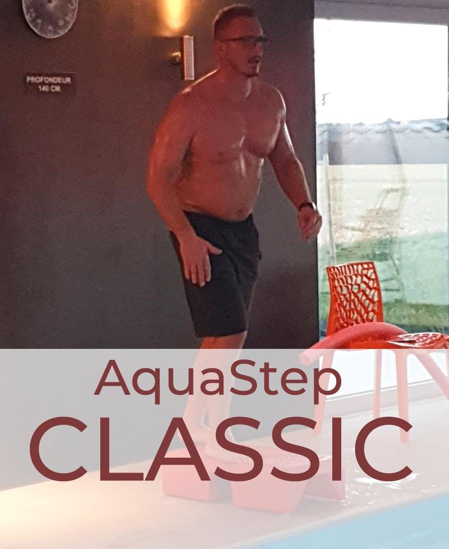 emisante.be reservations en ligne Aqua Step CLASSIC